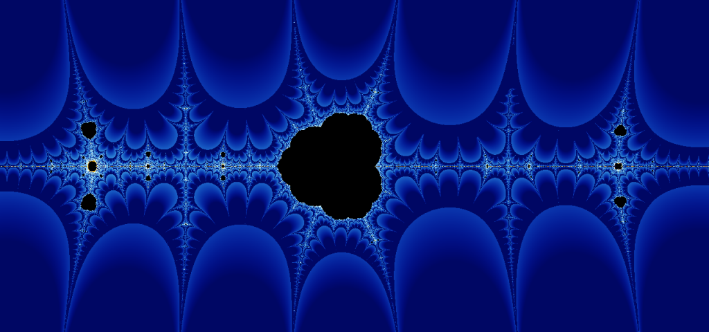The Collatz fractal